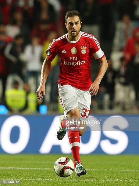 Benfica's defender Jardel in action during the Primeira Liga match between SL Benfica and Rio Ave FC at Estadio da Luz on December 20 2015 in Lisbon...
