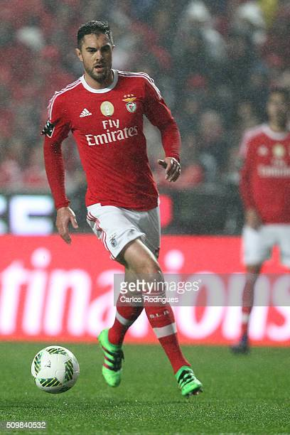 Benfica's defender Jardel Vieira during the match between SL Benfica and FC Porto for the portuguese Primeira Liga at Estadio da Luz on February 12...