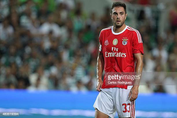Benfica's defender Jardel Vieira during the Portuguese Super Cup match between SL Benfica and Sporting CP at Estadio Algarve on August 9 2015 in Faro...
