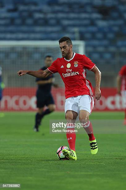 Benfica's defender Jardel Vieira during the Pre Season match between SL Benfica and Vitoria Setubal at Estadio do Algarve on July 14 2016 in Faro...