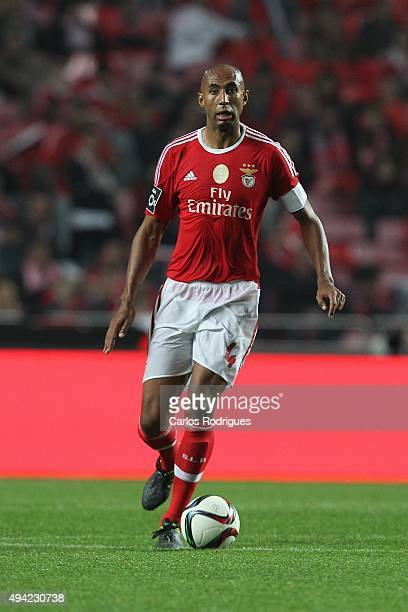 Benfica's defender Luisao during the match between SL Benfica and Sporting CP at Estadio da Luz on October 25 2015 in Lisbon Portugal