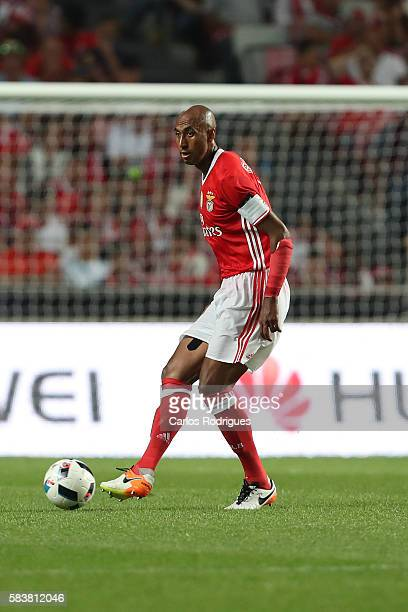 Benfica's defender Luisao during the match between SL Benfica and Torino for the Eusebio Cup at Estadio da Luz on July 27 2016 in Lisbon Portugal