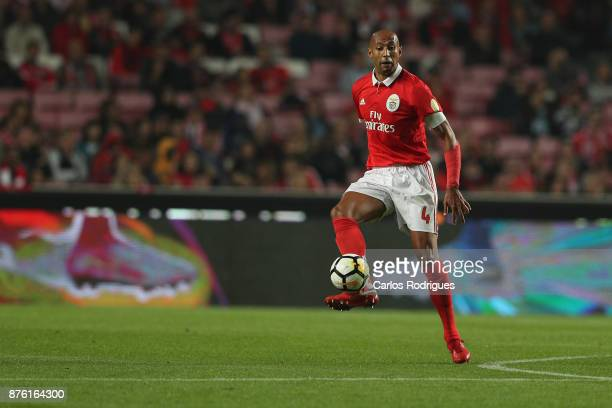 Benfica's defender Luisao from Brasil during the match between SL Benfica and FC Vitoria Setubal for the Portuguese Cup at Estadio da Luz on October...