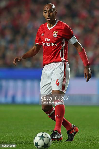 Benfica's defender Luisao from Brasil during the UEFA Champions League group B match between SL Benfica v SSC Napoli at Estadio da Luz on December 06...