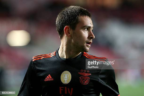 Benficas forward Andrija Zivkovic from Serbia during Portuguese Cup match between SL Benfica v Leixoes SC at Luz Stadium in Lisbon on January 18 2017