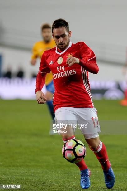 Benficas forward Andrija Zivkovic from Serbia during Portuguese Cup match between Estoril PS v SL Benfica at Estadio Antonio Coimbra da Mota in...