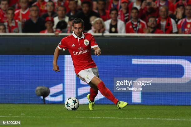Benfica's forward Andrija Zivkovic from Serbia during SL Benfica v CSKA Moskva UEFA Champions League round one match at Estadio da Luz on September...