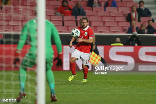 Benficas forward Andrija Zivkovic from Serbia during the match between SL Benfica v FC Basel UEFA Champions League playoff match at Luz Stadium on...