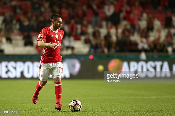 Benfica's forward Andrija Zivkovic in action during the Portuguese League Cup football match SL Benfica vs FC Vizela at the Luz stadium in Lisbon...