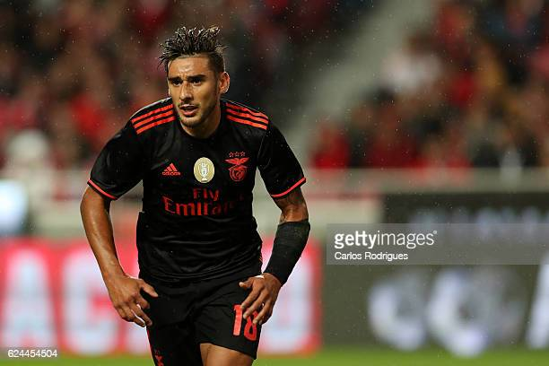 Benfica's forward Eduardo Salvio from Argentina during the SL Benfica v CS Maritimo Portuguese Cup round 4 match at Estadio da Luz on November 19...