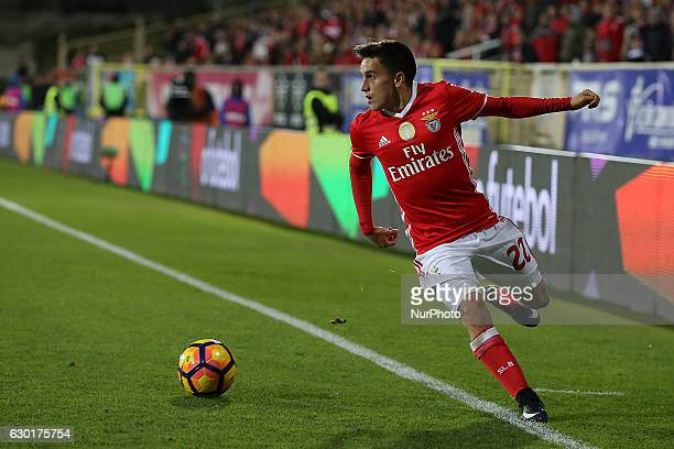 Benficas forward Franco Cervi from Argentina during Premier League 2016/17 match between SL Benfica and Estoril Praia SAD at Estadio Antonio Coimbra...
