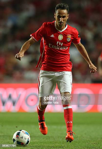 BenficaÕs forward from Brazil Jonas in action during the Eusebio Cup match between SL Benfica and Torino at Estadio da Luz on July 27 2016 in Lisbon...