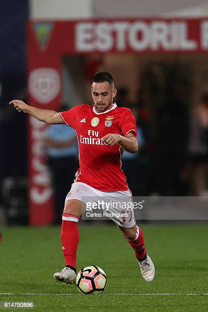 Benfica's forward from Serbia Andrija Zivkovic during SU 1 Dezembro v Benfica Portuguese Cup at Estadio Antonio Coimbra da Mota on October 14 2016 in...