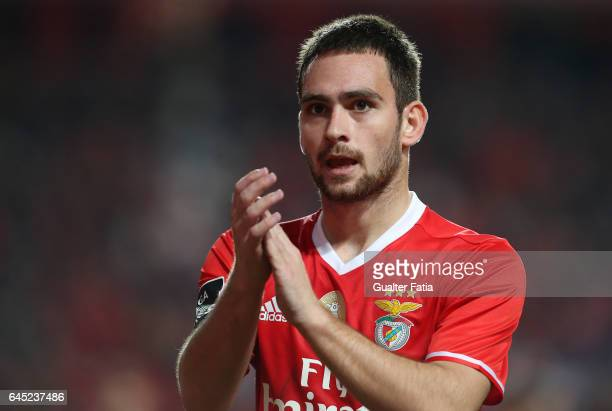 Benfica's forward from Serbia Andrija Zivkovic during the Primeira Liga match between SL Benfica and GD Chaves at Estadio da Luz on February 24 2017...