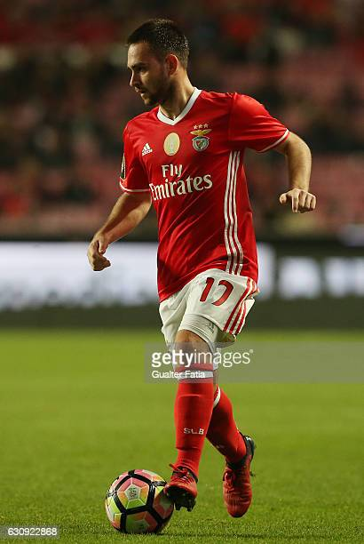 Benfica's forward from Serbia Andrija Zivkovic in action during the Primeira Liga match between SL Benfica and FC Vizela at Estadio da Luz on January...