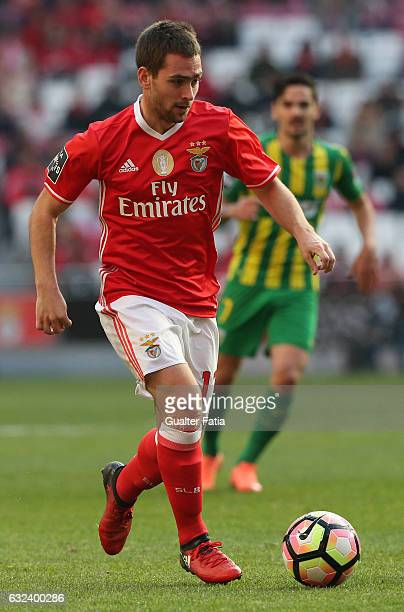 Benfica's forward from Serbia Andrija Zivkovic in action during the Primeira Liga match between SL Benfica and CD Tondela at Estadio da Luz on...