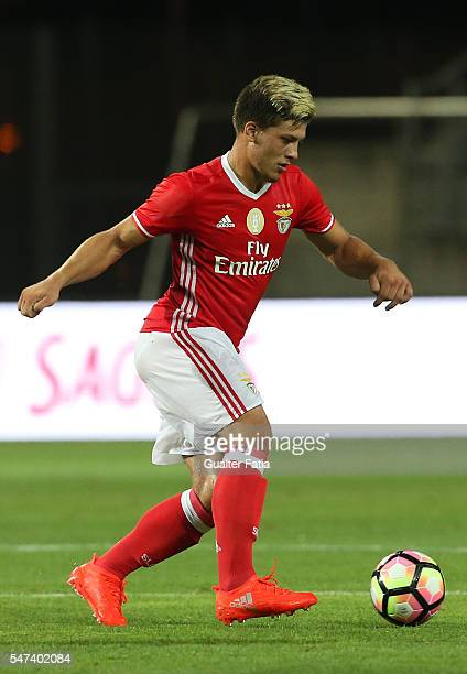 Benfica's forward from Serbia Luka Jovic in action during the Algarve Football Cup Pre Season Friendly match between SL Benfica and Vitoria Setubal...