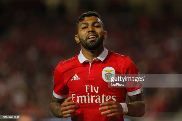 Benficas forward Gabriel Barbosa from Brazil during the Portuguese Cup 2017/18 match between SL Benfica v SC Braga at Luz Stadium in Lisbon on...