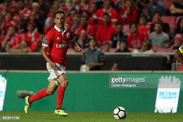 Benfica's forward Jonas from Brasil during the match between SL Benfica and FC Paco de Ferreira for the round seven of the Portuguese Primeira Liga...