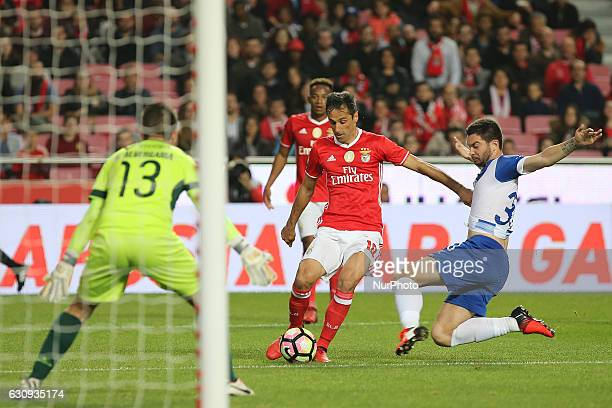 Benficas forward Jonas from Brazil during the Portuguese Cup 2016/17 match between SL Benfica v FC Vizela at Luz Stadium in Lisbon on January 3 2017