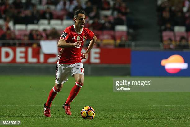 Benficas forward Jonas from Brazil during the Premier League 2016/17 match between SL Benfica v Rio Ave FC at Luz Stadium in Lisbon on December 21...