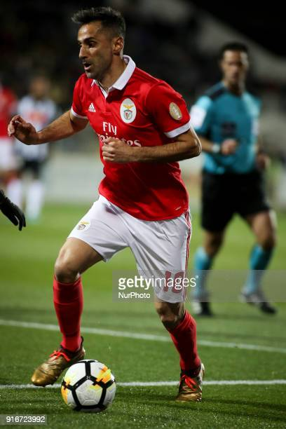 Benfica's forward Jonas in action during the Portuguese League football match between Portimonense SC and SL Benfica at Portimao Stadium in Portimao...