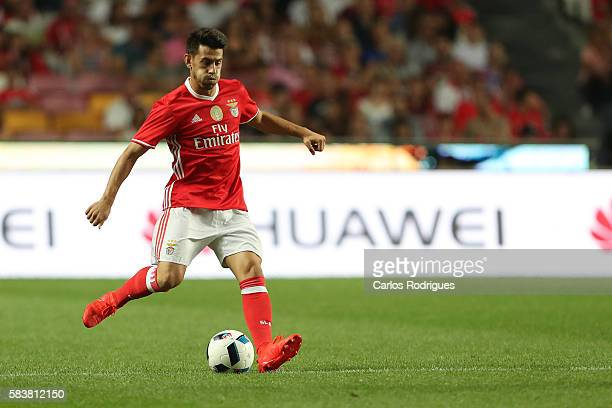 Benfica's forward Pizzi during the match between SL Benfica and Torino for the Eusebio Cup at Estadio da Luz on July 27 2016 in Lisbon Portugal