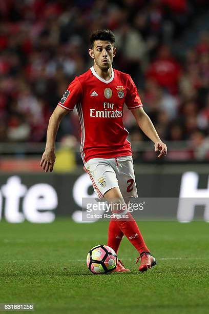 Benfica's forward Pizzi from Portugal during the match between SL Benfica and Boavista FC for the Portuguese Primeira Liga at Estadio da Luz on...