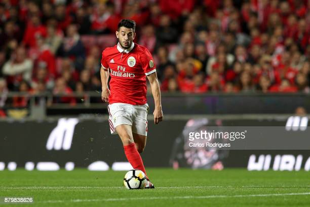 Benfica's forward Pizzi from Portugal during the match between SL Benfica and FC Vitoria Setubal for the Portuguese Primeira Liga at Estadio da Luz...