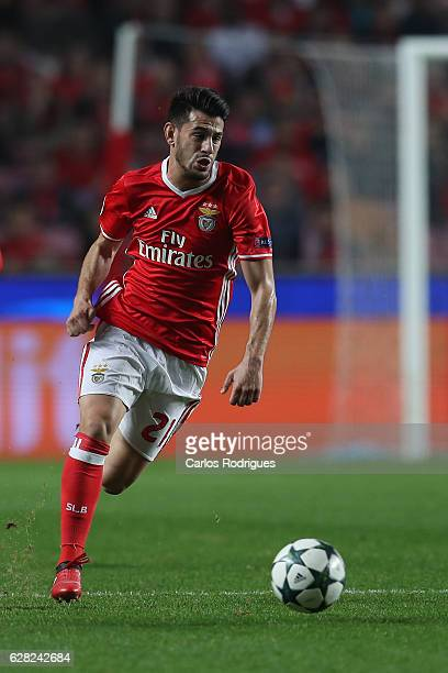 Benfica's forward Pizzi from Portugal during the UEFA Champions League group B match between SL Benfica v SSC Napoli at Estadio da Luz on December 06...