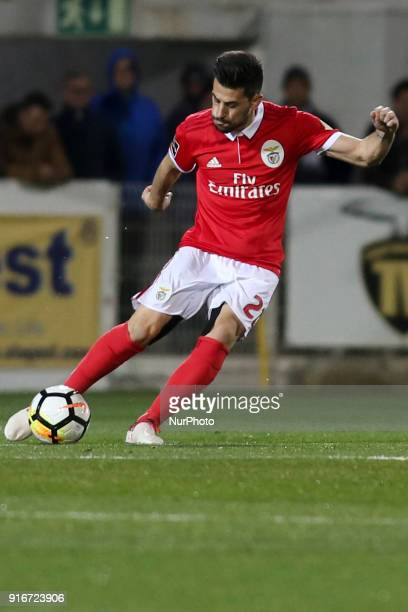 Benfica's forward Pizzi in action during the Portuguese League football match between Portimonense SC and SL Benfica at Portimao Stadium in Portimao...