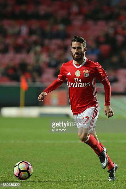 Benficas forward Rafa Silva from Portugal during the Portuguese Cup 2016/17 match between SL Benfica v FC Vizela at Luz Stadium in Lisbon on January...