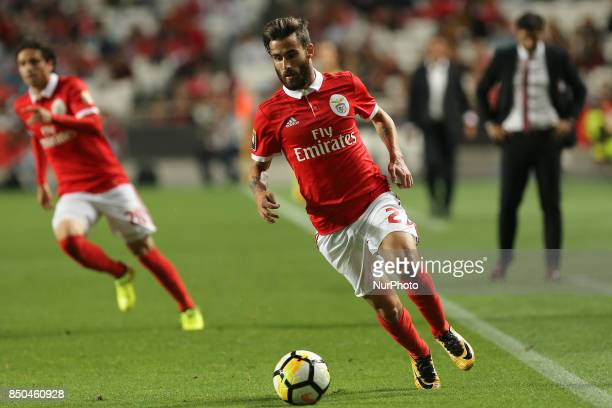 Benficas forward Rafa Silva from Portugal during the Portuguese Cup 2017/18 match between SL Benfica v SC Braga at Luz Stadium in Lisbon on September...