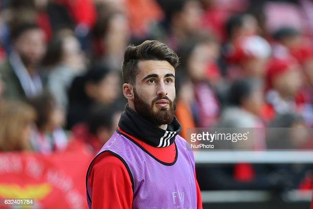 Benficas forward Rafa Silva from Portugal during the Premier League 2016/17 match between SL Benfica v CD Tondela at Luz Stadium in Lisbon on January...