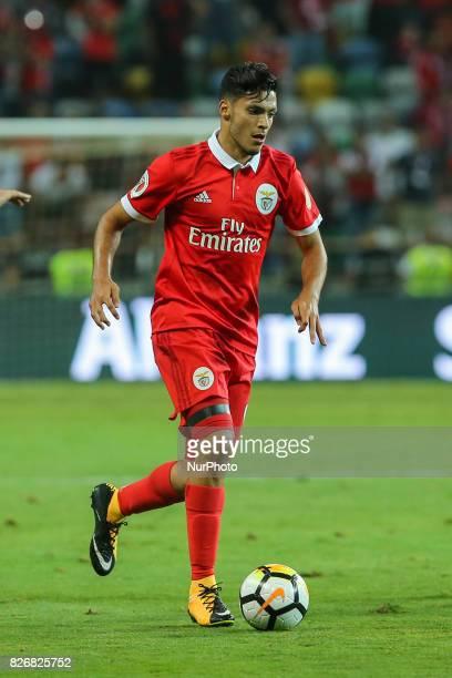 Benficas forward Raul Jimenez from Mexico during the Candido Oliveira Super Cup match between SL Benfica and Vitoria Guimaraes at Municipal de Aveiro...