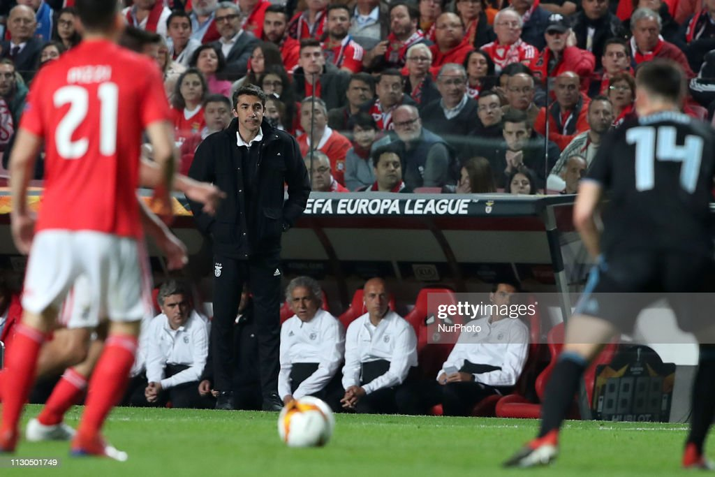 SL Benfica v Dinamo Zagreb - UEFA Europa League Round of 16 - Second Leg : News Photo