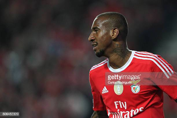 Benfica's midfielder Anderson Talisca during the match between SL Benfica and FC Arouca at Estadio da Luz on January 23 2016 in Lisbon Portugal