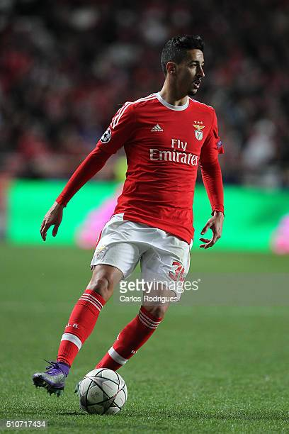 Benfica's midfielder Andre Almeida during the match between SL Benfica and FC Zenit for the UEFA Champions League Round of 16 First Leg at Estadio da...