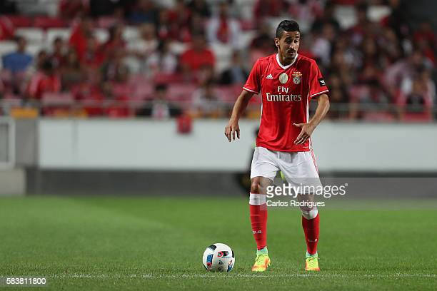 Benfica's midfielder Andre Almeida during the match between SL Benfica and Torino for the Eusebio Cup at Estadio da Luz on July 27 2016 in Lisbon...