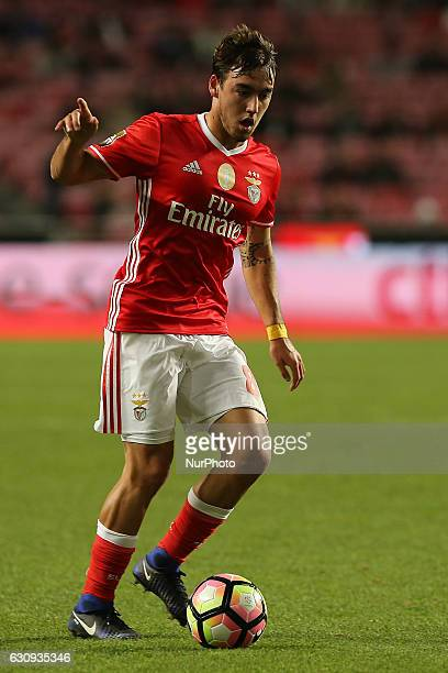 Benficas midfielder Andre Horta from Portugal during the Portuguese Cup 2016/17 match between SL Benfica v FC Vizela at Luz Stadium in Lisbon on...