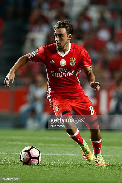 Benfica's midfielder Andre Horta in action during Premier League 2016/17 match between SL Benfica v SC Braga in Lisbon on September 19 2016