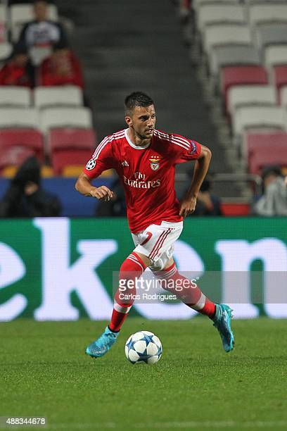 Benfica's midfielder Andreas Samaris during the match between SL Benfica and FC Astana for the UEFA Champions League at Estadio da Luz on August 29...