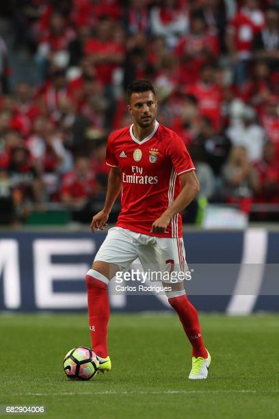 Benfica's midfielder Andreas Samaris from Greece during the match between SL Benfica and Vitoria SC for the Portuguese Primeira Liga at Estadio da...