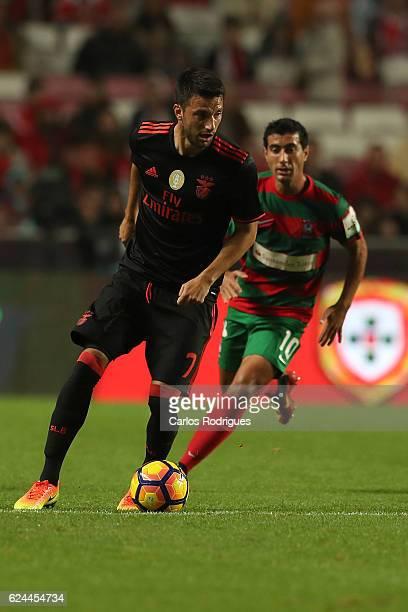 Benfica's midfielder Andreas Samaris from Greece during the SL Benfica v CS Maritimo Portuguese Cup round 4 match at Estadio da Luz on November 19...