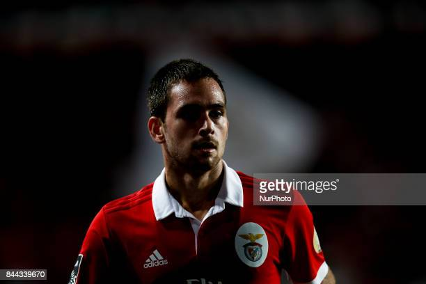 Benfica's midfielder Andrija Zivkovic during Primeira Liga 2017/18 match between SL Benfica vs Portimonense SC in Lisbon on September 8 2017
