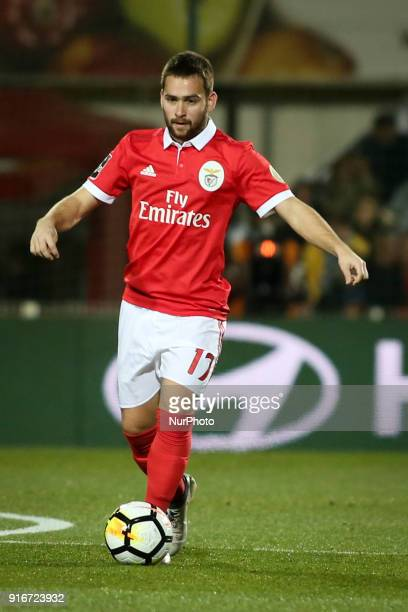 Benfica's midfielder Andrija Zivkovic in action during the Portuguese League football match between Portimonense SC and SL Benfica at Portimao...