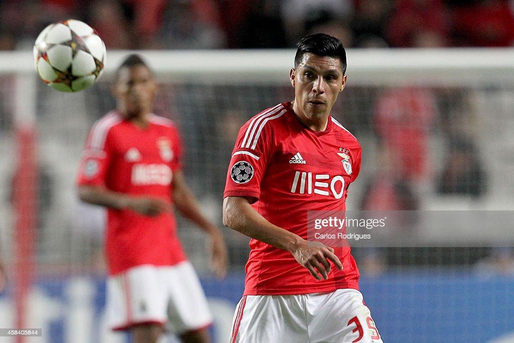 SL Benfica v AS Monaco FC - UEFA Champions League : News Photo