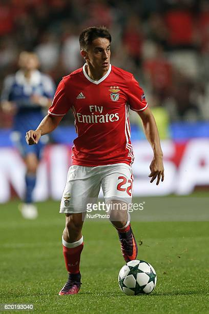 Benfica's midfielder Franco Cervi in action during Champions League 2016/17 match between SL Benfica vs Dynamo Kyiv in Lisbon on November 1 2016
