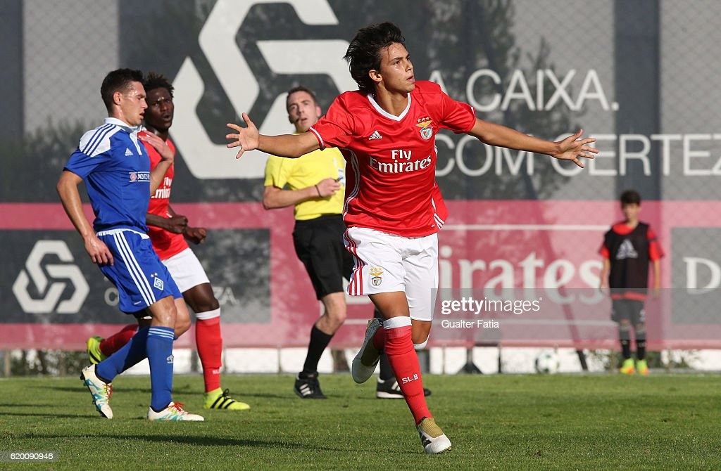 SL Benfica v FC Dynamo Kyiv - UEFA Youth Champions League : News Photo