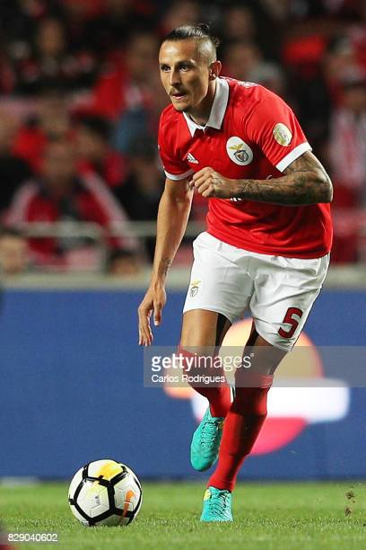 Benfica's midfielder Ljubomir Fejsa from Serbia during the match between SL Benfica and SC Braga for the fruit round of the Portuguese Primeira Liga...